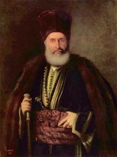 Porträt des Großbanu Nasturel Herescu