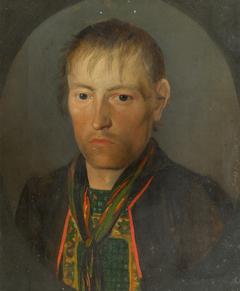 Porträt eines Bauern