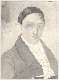 Portret van een heer met bril