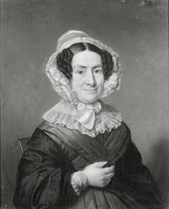 Portret van Maria Henrietta van der Muelen (1785-1855), echtgenote van Carel Joseph van der Muelen