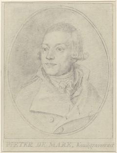 Portret van Pieter de Mare