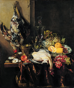 Pronkstillleven with Fruit and Fowl