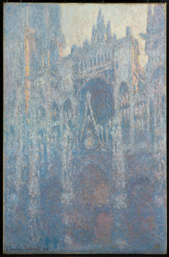 Rouen Cathedral, Portal, Morning Light
