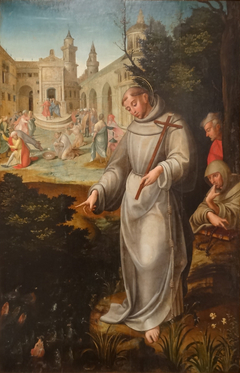 Saint Anthony preaching to the fishes