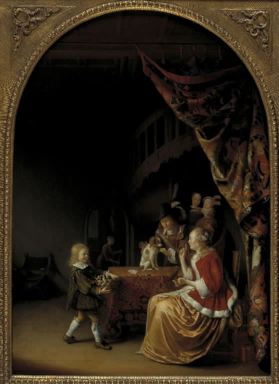 Scene from a Wealthy Dutch Home