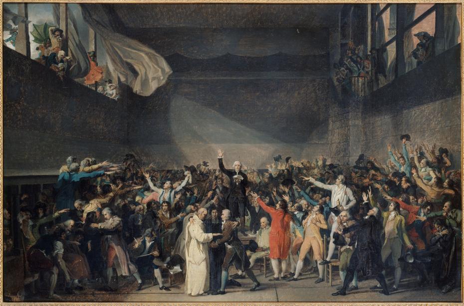 Serment du Jeu de paume, le 20 juin 1789