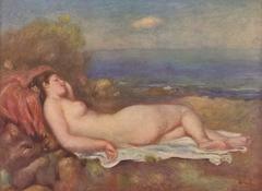 Sleeping by the sea