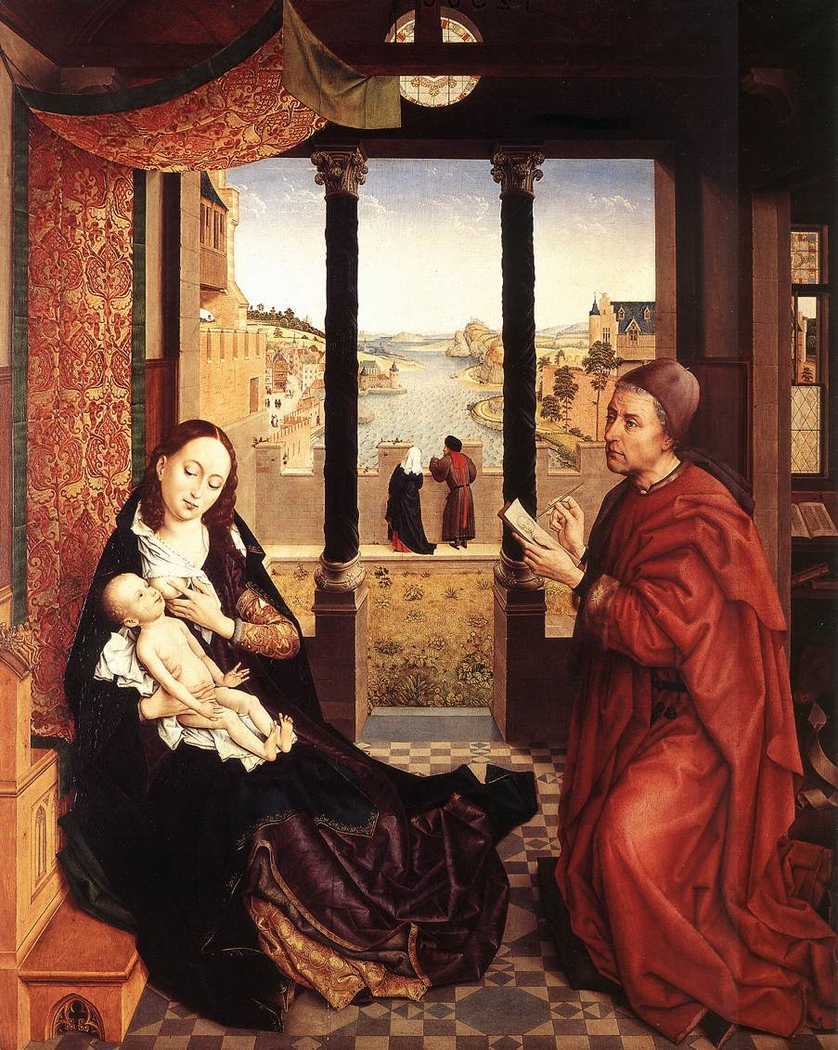 St Luke Drawing the Portrait of the Madonna