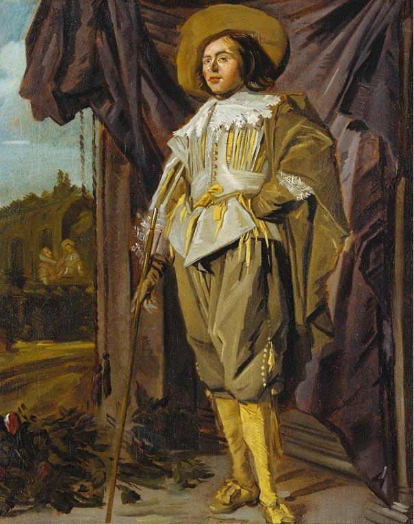 Standing Cavalier