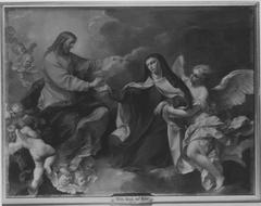 Stigmatisation der hl. Maria Magdalena Pazzi