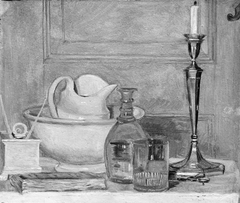 Still Life in White and Grey