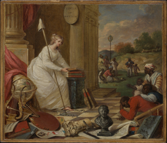 Study For Liberty Displaying the Arts and Sciences, or The Genius of America Encouraging the Emancipation of the Blacks