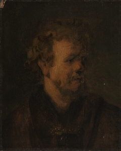 Study of the head a man