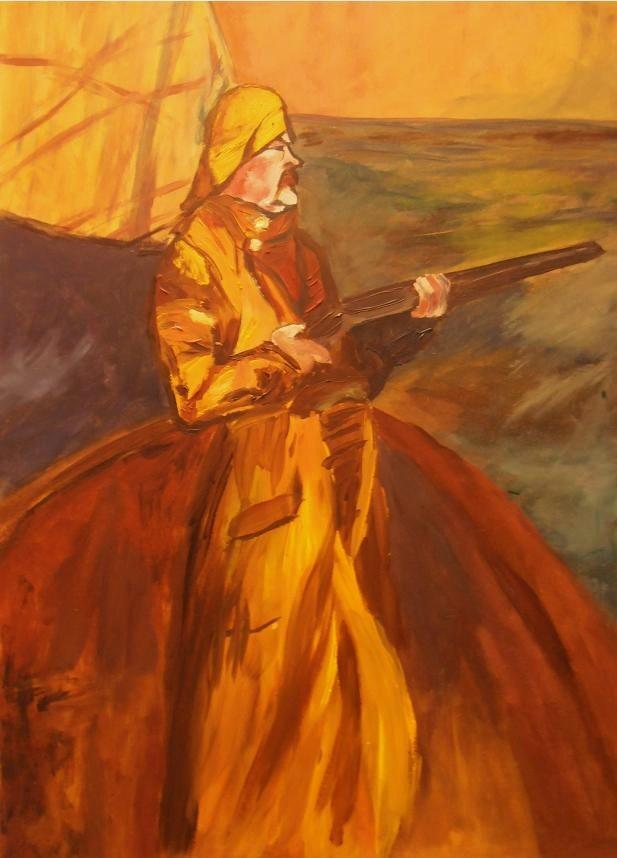 Study of Toulouse Lautrec's 'Maurice Joyant'