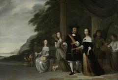 The Batavian Senior Merchant Pieter Cnoll and his Family