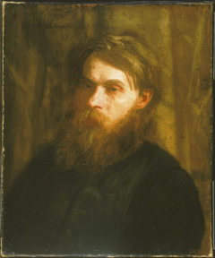 The Bohemian (Portrait of Franklin Louis Schenck)