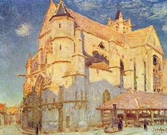The Church in Moret (full sunlight)