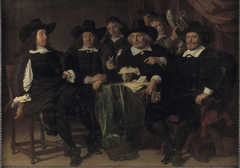 The directors of the Amsterdam civic guard of St. George in 1656