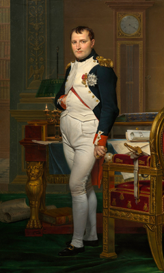 The Emperor Napoleon in His Study at the Tuileries