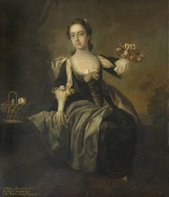 The Hon. Mary Venables Vernon, later Mrs George (Adams) Anson (1739-1843), as a Girl