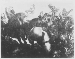 The Lion and Leopard Hunt