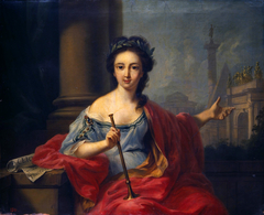 The Muse Clio (the nine muses, 1780)