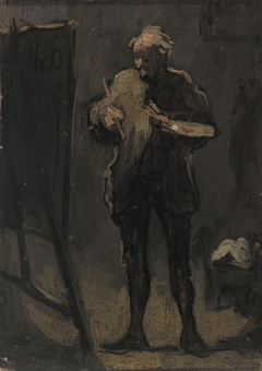 The Painter in Front of His Painting (Le Peintre devant son tableau)