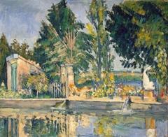 The pool at Jas de Bouffan