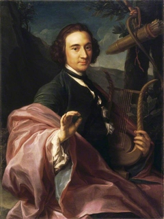 The Reverend Utrick Fetherstonhaugh (1717/18-1788) as Apollo