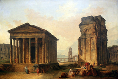 The Ruins in Nîmes, Orange and Saint-Rémy-de-Provence