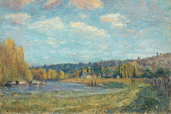 The Seine at Saint-Cloud