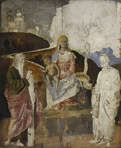 The Virgin and Child with Saint Andrew and Saint Peter