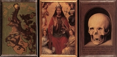 Triptych of Earthly Vanity and Divine Salvation (reverse)