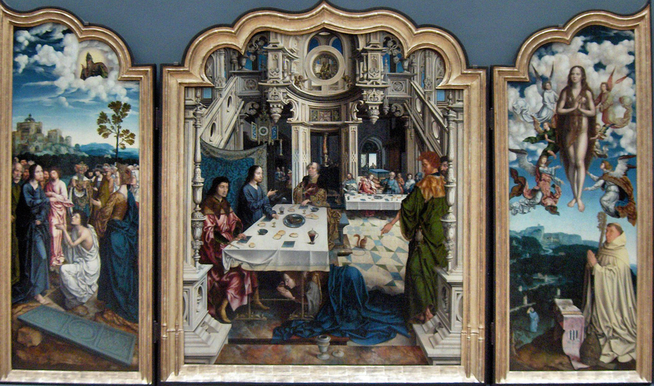 Triptych of the Dielegem Abbey