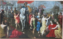 Triumph of king David