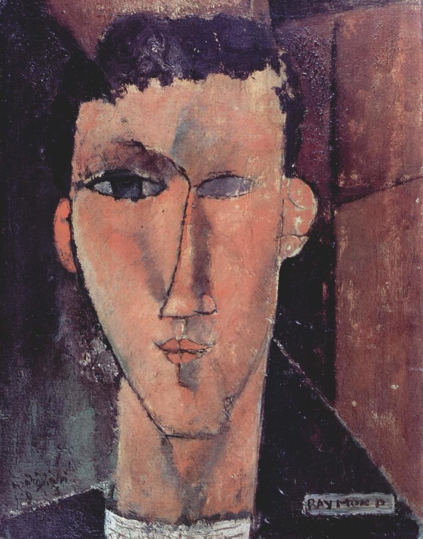Portrait of Raymond