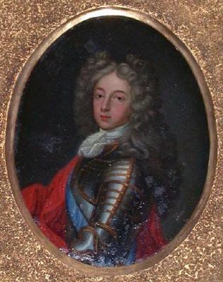 Portrait of Louis Augutse de Bourbon, Duke of Maine (1670-1736)