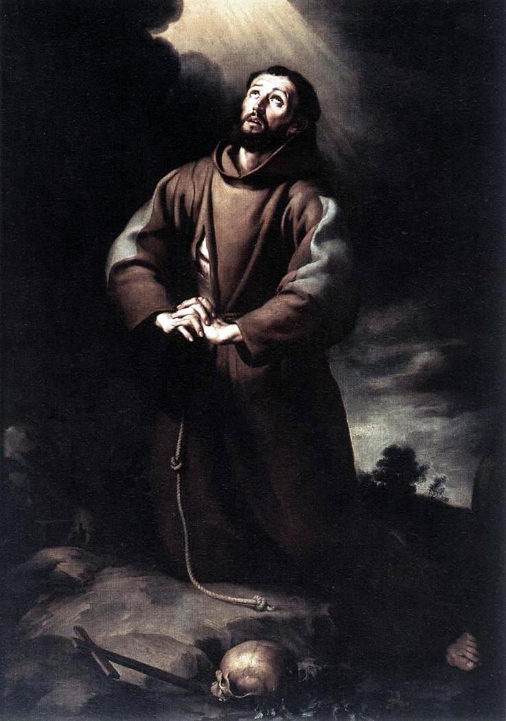 St Francis of Assisi at Prayer