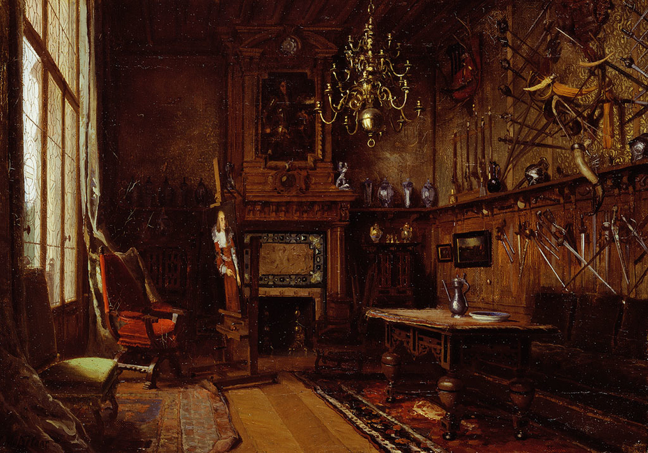 The Studio at the Willet-Holthuysens' Villa in Le Vésinet