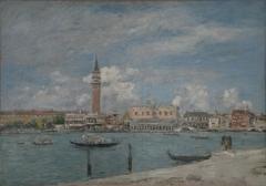 Venise, la Piazzetta vue du Grand Canal