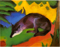 Blue-Black Fox
