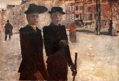 Vrouwen op het Rokin, Amsterdam