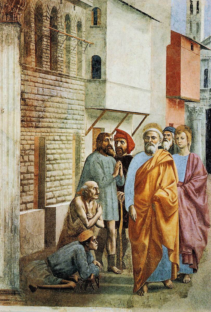 St. Peter Healing the Sick with His Shadow