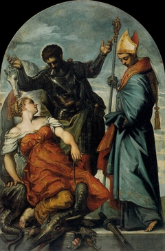 St. Louis of Toulouse, St. George and the Princess