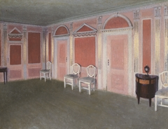 Interior in Louis Seize style
