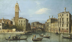 Venice: San Geremia and the Entrance to the Cannaregio