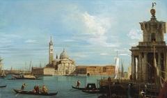 Venice: The Punta della Dogana and San Giorgio Maggiore