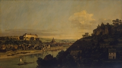 View of Pirna from the Right Bank of the Elba above the Town
