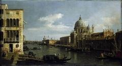 View of the Grand Canal: Santa Maria della Salute and the Dogana from Campo Santa Maria Zobenigo