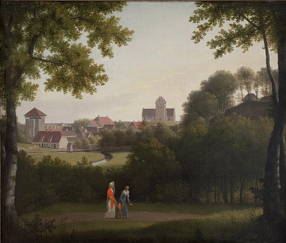 View Towards Lyngby